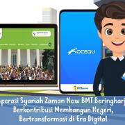 Koperasi Syariah Zaman Now BMT Beringharjo : Berkontribusi Membangun Negeri, Bertransformasi di Era Digital
